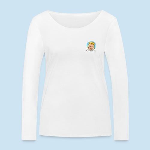 QueeenTran Logo Bitmoji - Økologisk langermet T-skjorte for kvinner fra Stanley & Stella