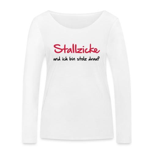 Vorschau: Stallzicke - Frauen Bio-Langarmshirt von Stanley & Stella