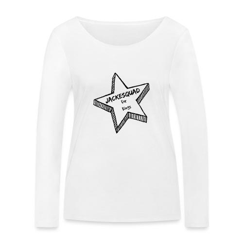 JACKESQUAD - Ekologisk långärmad T-shirt dam från Stanley & Stella