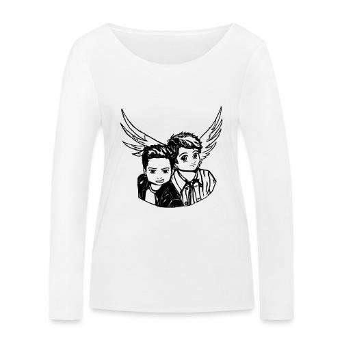 Destiel (Silhuet) - Økologisk Stanley & Stella langærmet T-shirt til damer
