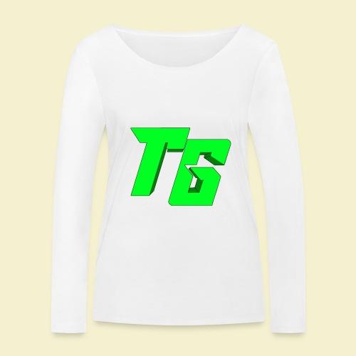 TristanGames logo merchandise [GROOT LOGO] - Vrouwen bio shirt met lange mouwen van Stanley & Stella
