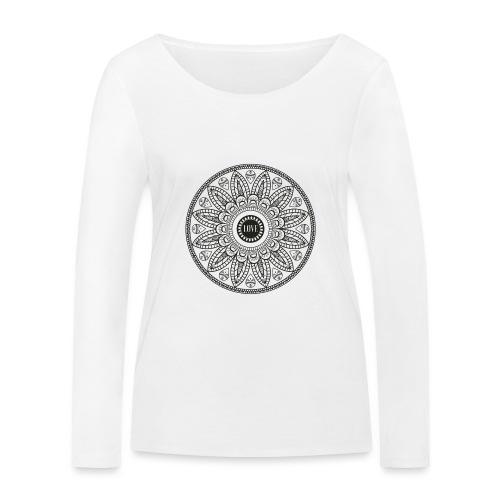Mandala mit Schriftzug Love - Frauen Bio-Langarmshirt von Stanley & Stella