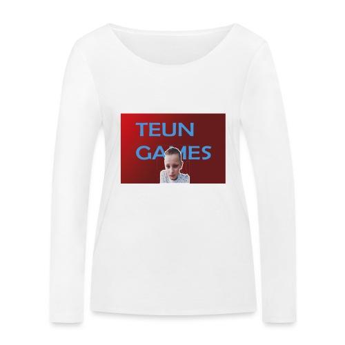 TeunGames foto - Vrouwen bio shirt met lange mouwen van Stanley & Stella