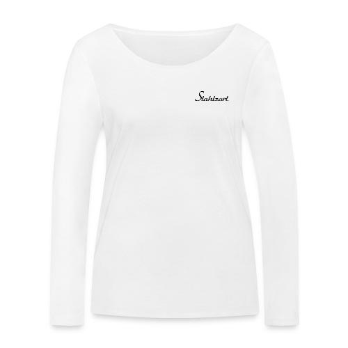 Stahlzart Original S - Langarmshirt Damen weiß - Frauen Bio-Langarmshirt von Stanley & Stella