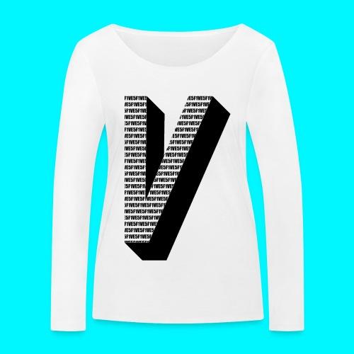 FIVES big V - T-shirt manches longues bio Stanley & Stella Femme