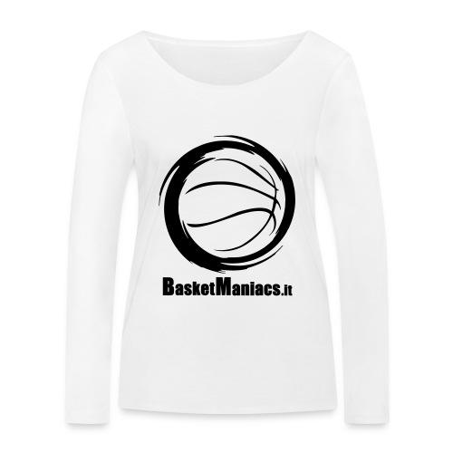 Basket Maniacs - Maglietta a manica lunga ecologica da donna di Stanley & Stella