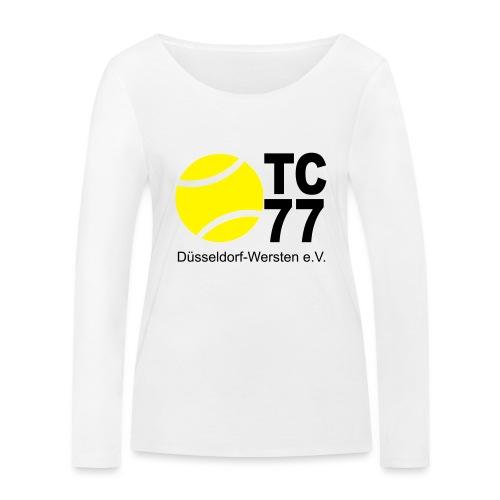 TC 77 Logo - Frauen Bio-Langarmshirt von Stanley & Stella