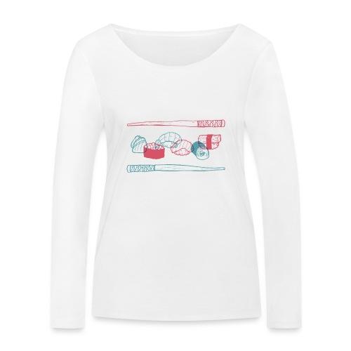 Sushi - Frauen Bio-Langarmshirt von Stanley & Stella