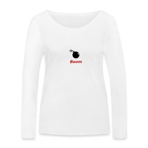 Bomba - Ekologiczna koszulka damska z długim rękawem Stanley & Stella