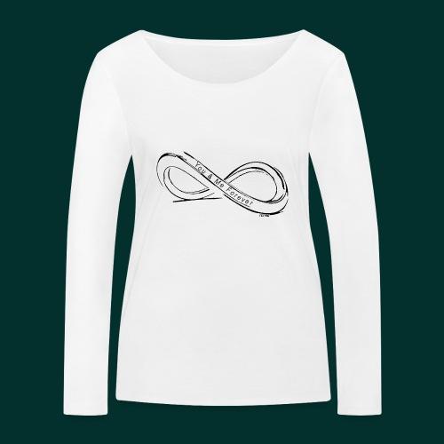 infinito you and me - Maglietta a manica lunga ecologica da donna di Stanley & Stella