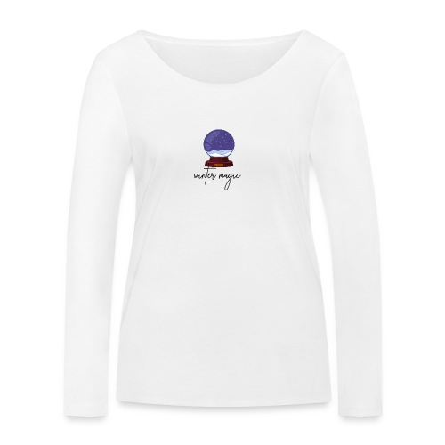 winter magic, snow, winter coming, magic bullet - Women's Organic Longsleeve Shirt by Stanley & Stella