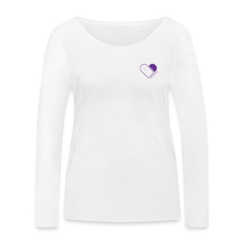 Longboard Dancing World Logo - Women's Organic Longsleeve Shirt by Stanley & Stella