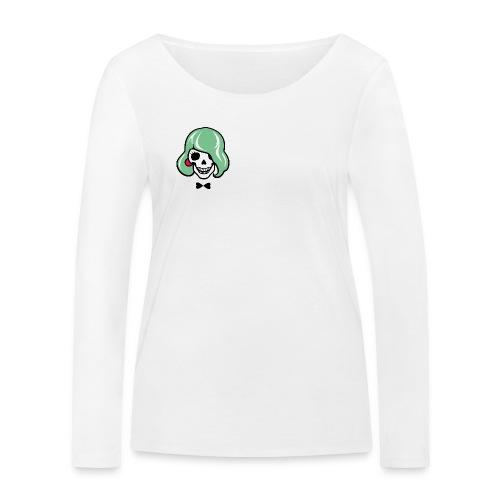 Sexy Totenkopf - Sharon Bone - Frauen Bio-Langarmshirt von Stanley & Stella