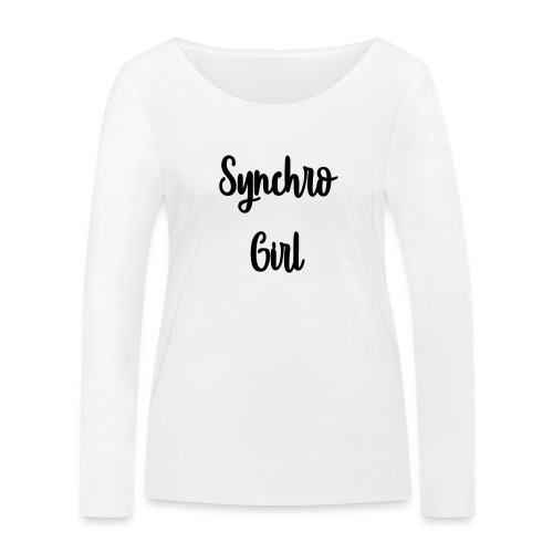 Synchro Girl - Stanley & Stellan naisten pitkähihainen luomupaita