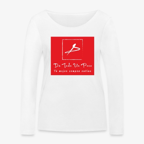 de todo un poco - Camiseta de manga larga ecológica mujer de Stanley & Stella