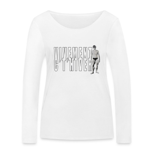 TELEMARK Vivement cet Hiver - T-shirt manches longues bio Stanley & Stella Femme