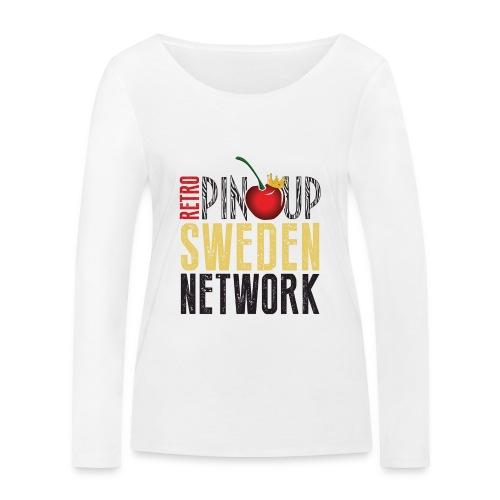 Tanktop Retro Pinup Sweden Crew utsvängd - Ekologisk långärmad T-shirt dam från Stanley & Stella