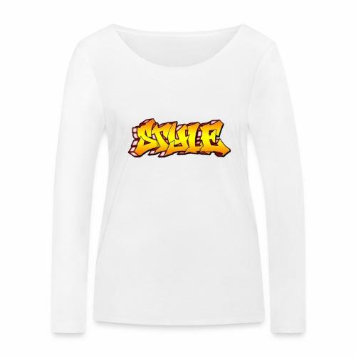Camiseta estilo - Camiseta de manga larga ecológica mujer de Stanley & Stella