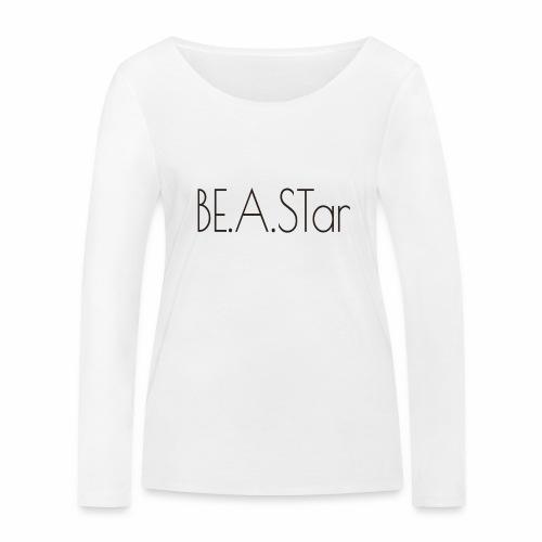 BEASTar text dark - Frauen Bio-Langarmshirt von Stanley & Stella