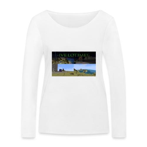 Velotime! - Ekologisk långärmad T-shirt dam från Stanley & Stella