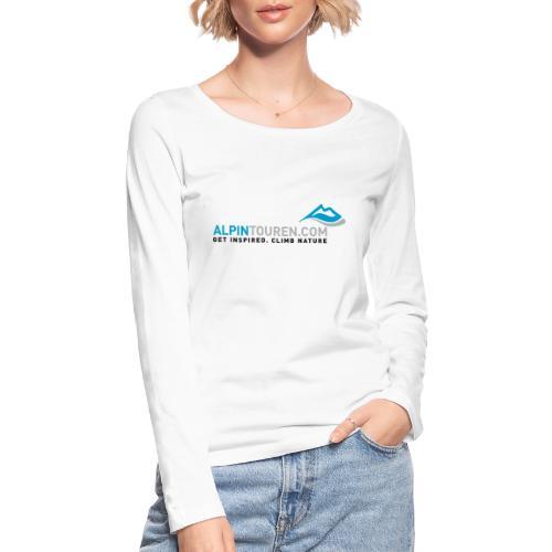 Alpintouren Logo - Frauen Bio-Langarmshirt von Stanley & Stella