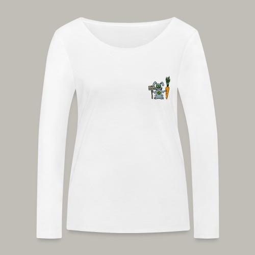 Green Rabbit - T-shirt manches longues bio Stanley & Stella Femme