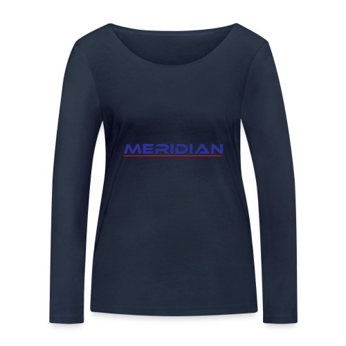 Meridian - Maglietta a manica lunga ecologica da donna di Stanley & Stella