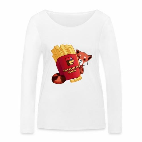 frittenfettSenpai - Frauen Bio-Langarmshirt von Stanley & Stella