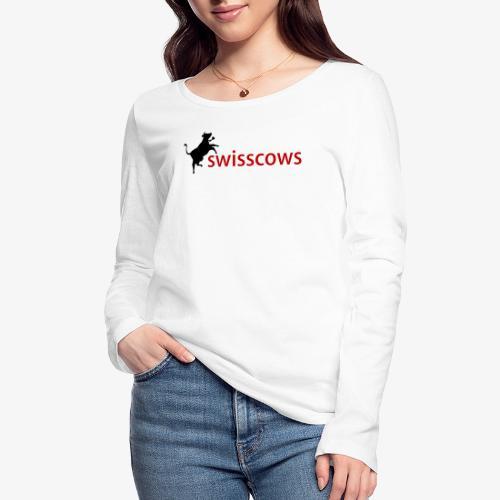 Swisscows - Frauen Bio-Langarmshirt von Stanley & Stella