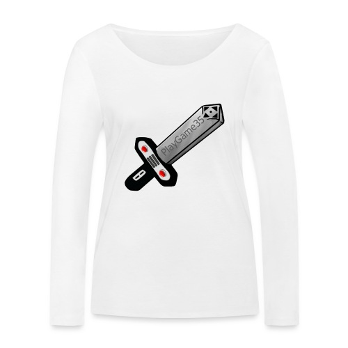 Logo PlayGame35 - Maglietta a manica lunga ecologica da donna di Stanley & Stella