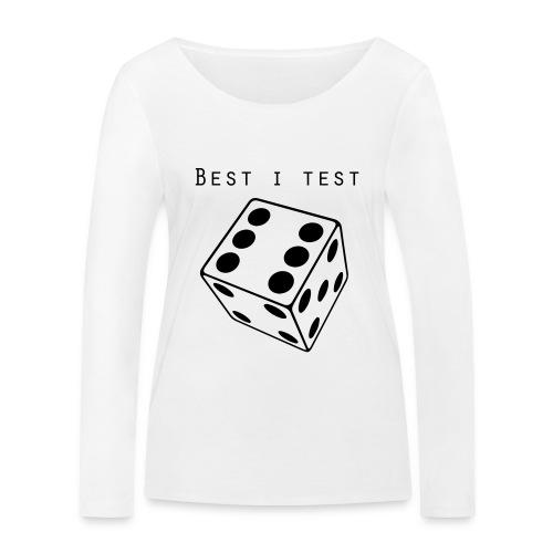 Best i test - Økologisk langermet T-skjorte for kvinner fra Stanley & Stella