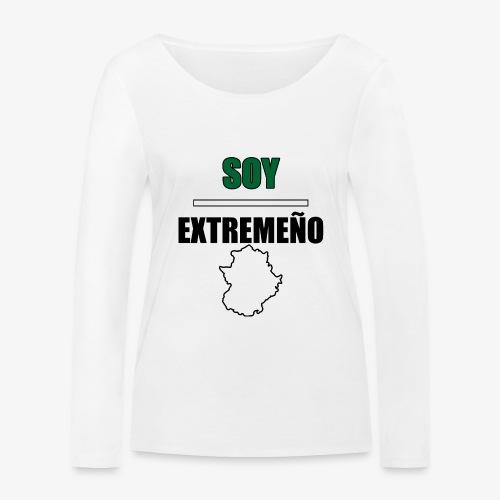 Soy Extremeño. - Camiseta de manga larga ecológica mujer de Stanley & Stella