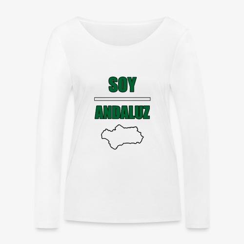 Soy Andaluz - Camiseta de manga larga ecológica mujer de Stanley & Stella