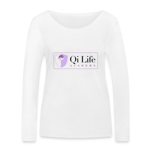 Qi Life Academy Promo Gear - Women's Organic Longsleeve Shirt by Stanley & Stella