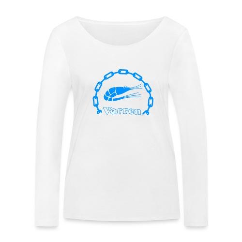 Vorren Logo CLASSIC [Blue] - Ekologisk långärmad T-shirt dam från Stanley & Stella