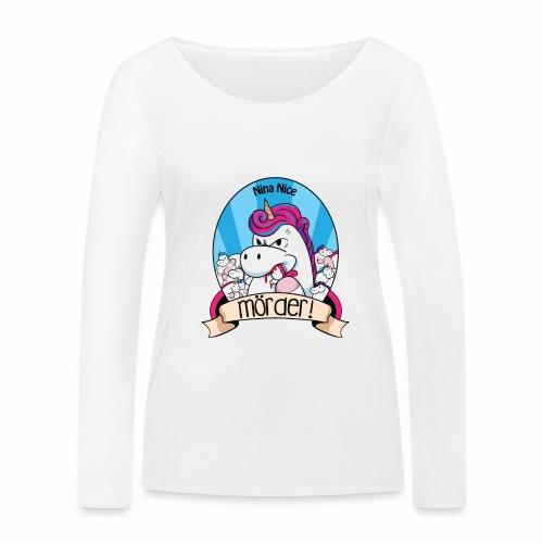 Murder Unicorn - Frauen Bio-Langarmshirt von Stanley & Stella
