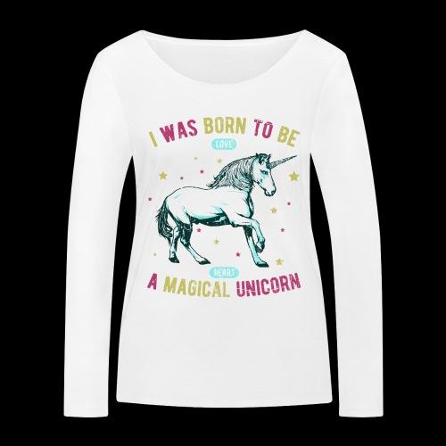 Magical Unicorn - Frauen Bio-Langarmshirt von Stanley & Stella