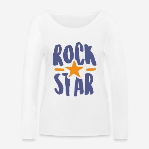 rock star - Frauen Bio-Langarmshirt von Stanley & Stella