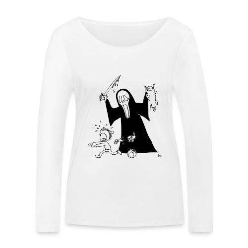 halloween t-skjorte - Økologisk langermet T-skjorte for kvinner fra Stanley & Stella