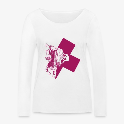 Climbing away - Women's Organic Longsleeve Shirt by Stanley & Stella