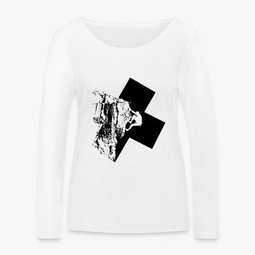 Escalada en roca - Women's Organic Longsleeve Shirt by Stanley & Stella