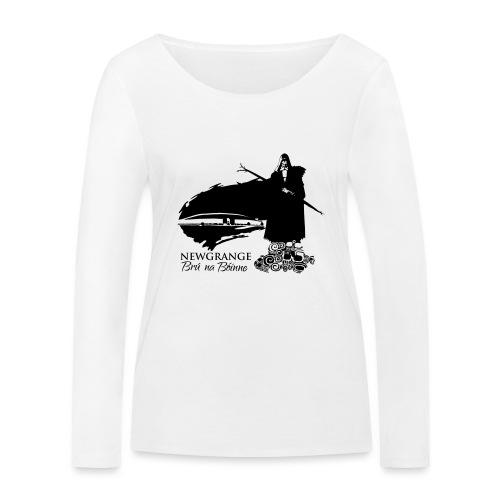 Legend_-_Newgrange3 - Women's Organic Longsleeve Shirt by Stanley & Stella