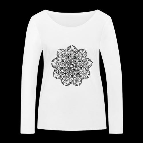 Mandala - Maglietta a manica lunga ecologica da donna di Stanley & Stella