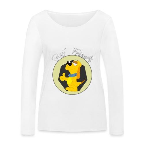 Best friends - Camiseta de manga larga ecológica mujer de Stanley & Stella
