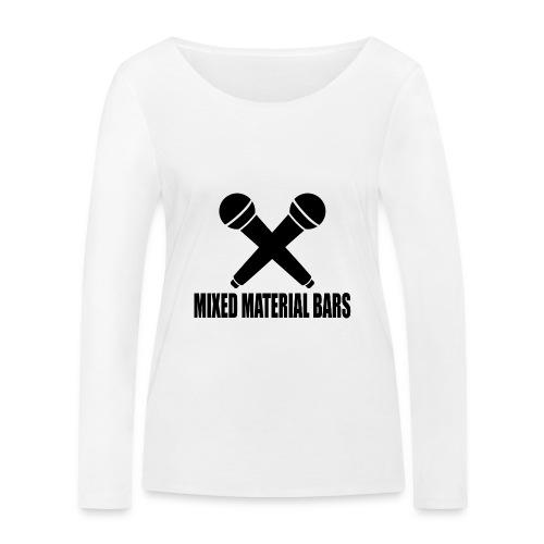 MIXED MATERIAL BARS - Frauen Bio-Langarmshirt von Stanley & Stella