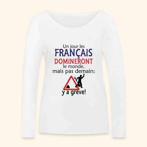 domination française - T-shirt manches longues bio Stanley & Stella Femme
