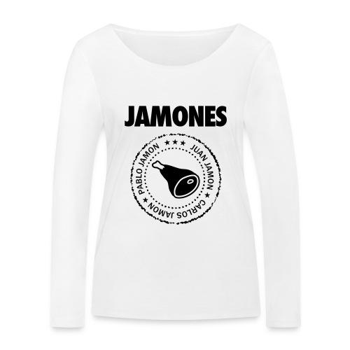 Jamones - Names - Women's Organic Longsleeve Shirt by Stanley & Stella