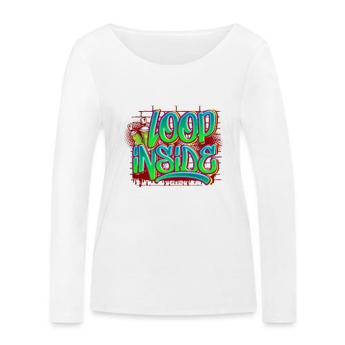 Loop inside 🤪 - Frauen Bio-Langarmshirt von Stanley & Stella