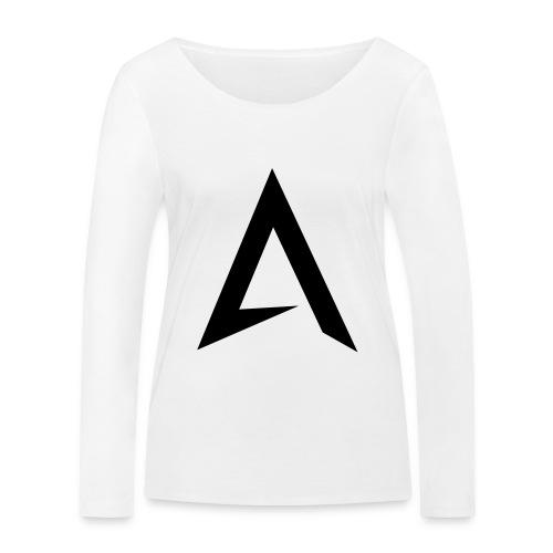 alpharock A logo - Women's Organic Longsleeve Shirt by Stanley & Stella