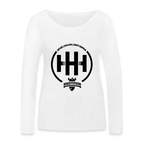 HHH-konsultit logo - Stanley & Stellan naisten pitkähihainen luomupaita